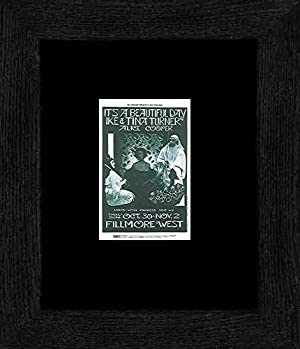 It's A Beautiful Day Ike and Tina Turner - Fillmore West October 69 Framed and Mounted Print - 20x18cm