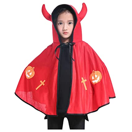 f2a7207d55a Image Unavailable. Image not available for. Color  Kids Halloween Costumes  Wizard Witch Cloak Cape Robe ...