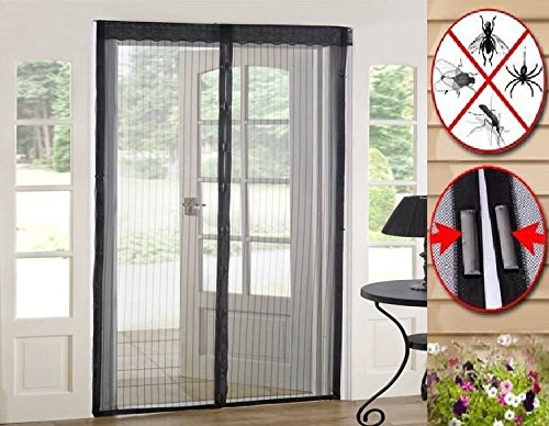... ProShield 15317 Mosquito Screens, Magnetic Mesh Screen Door Portable  Mesh Bug Door Screen Magnetic Door