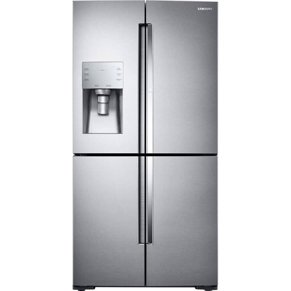 Samsung RF28K9380SR/AA 28 cu. ft. 4-Door Flex Food Showcase Refrigerator with FlexZone - Stainless Steel