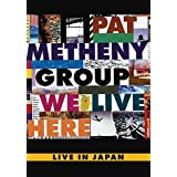 Pat Metheny - We Live Here - Live In Japan - IMPORT