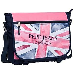 Pepe Jeans - Bolso bandolera, 11 Litros, Rosa