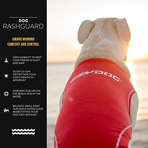 EzyDog Rashguard Vest - Premium Dog Shirt Allowing...