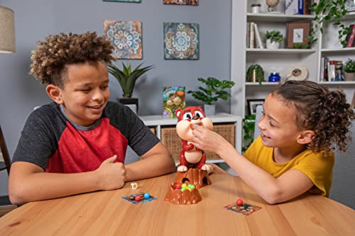 Chompin' Charlie Game - Feed The Squirrel Acorns and Race to Collect Them When They Scatter by Goliath