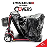 Challenger Mobility Cover - Heavy Duty Light Vinyl - Medium Scooter Size