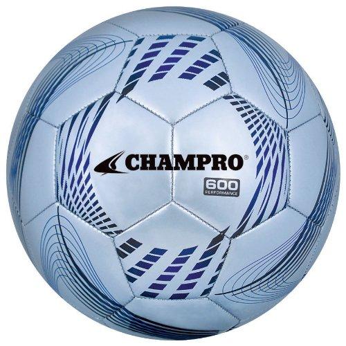 Ball Champro Soccer - Champro Soccer Ball (Silver Panels, 5)
