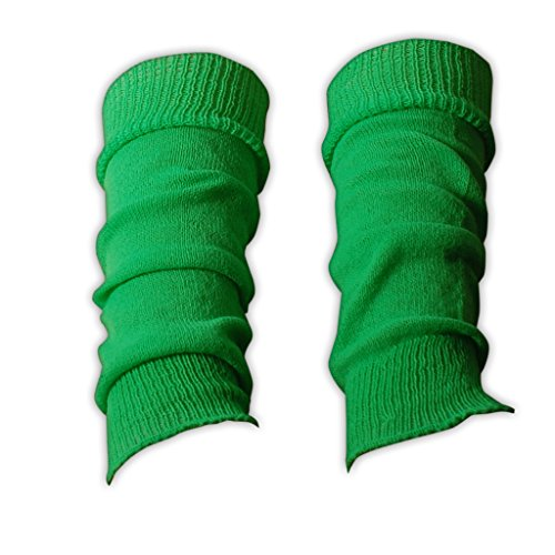 Leg Warmers for Girls Plain and Glitter Designs One Size Dance Ballet (70s Or 80s Clothing)