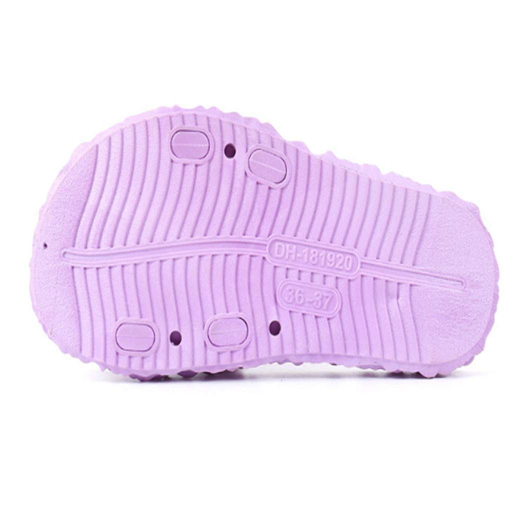 kaifongfu Spring and Summer Ladies Slippers Cabbage Slides Home Indoor Non-Slip Beach Slippers Shoes