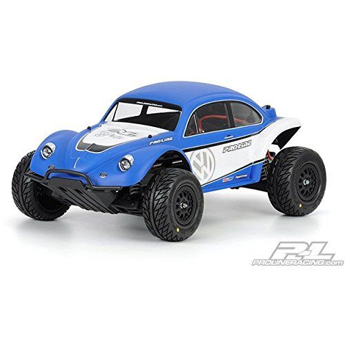 Proline 323863 Volkswagen Full Fender Baja Bug Body for Slash 2WD and 4WD (Volkswagen Bug Baja)