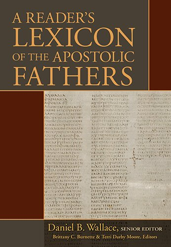 A Reader's Lexicon of the Apostolic Fathers