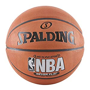 Spalding NBA SGT Neverflat Hexagrip Basketball 29.5″