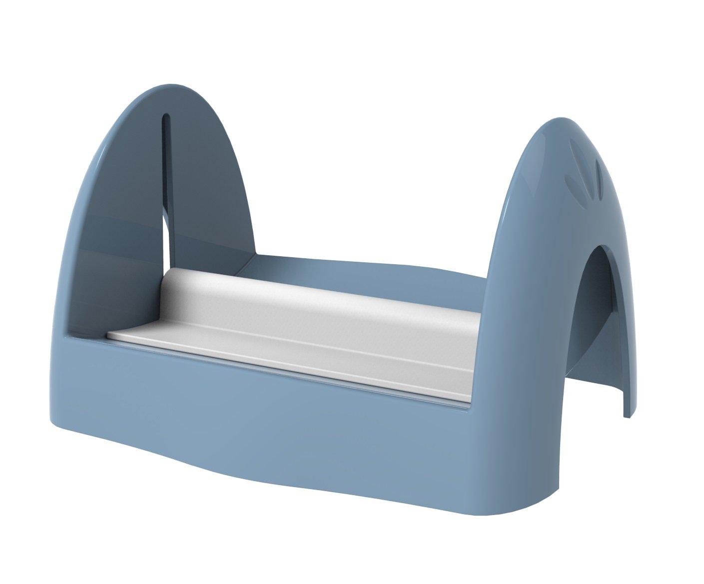 biesse Pin-Up Portatovaglioli con Pressino, Azzurro, 22 x 18 x 13 cm Ecoplast P 605/34