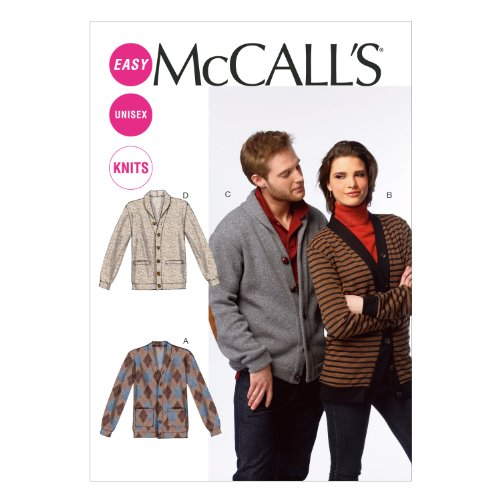 mccall-pattern-company-m6803-misses-mens-cardigans-sewing-template-size-xn-xlg-xxl-xxxl