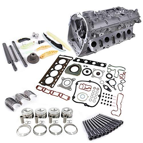 - Amzparts EA888 Engine Rebuilding Kit & Cylinder Head Piston & Ring 21mm Set & Timing Set Fits For VW Eos CC Jetta Golf Beetle AUDI A5 2.0T