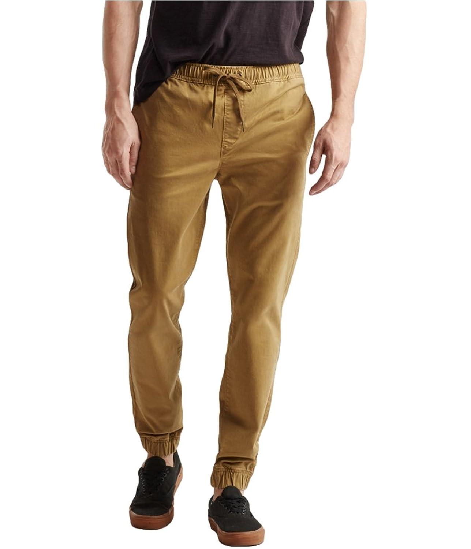 Aeropostale Mens Reflex Twill Casual Jogger Pants