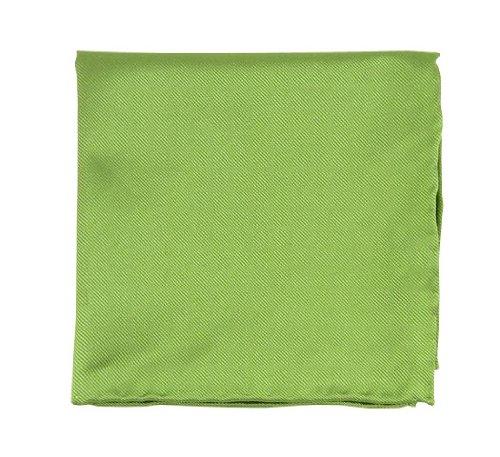 100% Silk Woven Green - 3