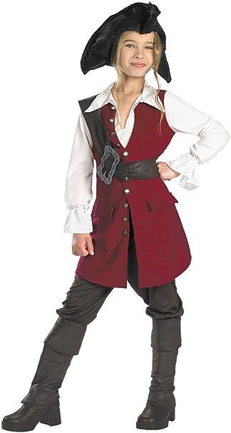 Amazon.com: Deluxe Elizabeth – Disfraz de pirata – X-Large ...