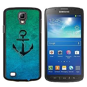 """Be-Star Único Patrón Plástico Duro Fundas Cover Cubre Hard Case Cover Para Samsung i9295 Galaxy S4 Active / i537 (NOT S4) ( Enfriar Pastel de neón del ancla del marinero del inconformista"""" )"""