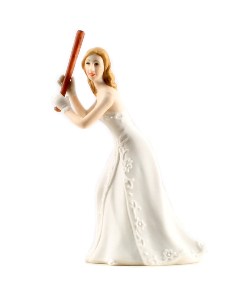 Weddingstar Bride at Home Base Ready to Hit the Home Run
