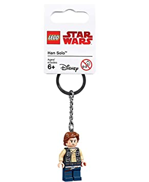 LEGO Star Wars Llavero HAN Solo (853769): Amazon.es ...