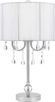 Amazon Com Catalina Lighting 19519 003 Glam Chandelier Table Lamp