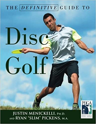 Book Definitive Guide to Disc Golf