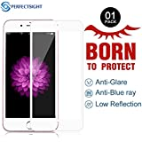 PERFECTSIGHT Screen Protector for Apple iPhone 6s Plus 6 Plus - Anti Glare Blue Light Filter Tempered Glass
