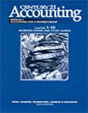 Century 21 Accounting 1st Year Course - Working Papers, Ross, Kenton E. and Hanson, Robert D., 0538629630