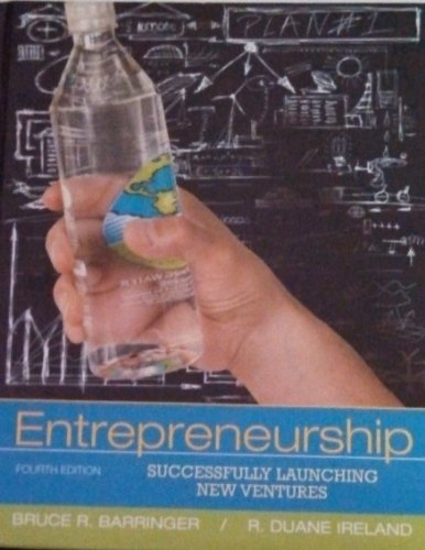 Entrepreneurship - Successfully Launching New Ventures