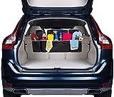 DIDIBABA Car Back seat Organizer Travel Storage Bag 4 Compartment Multi Pocket Car
