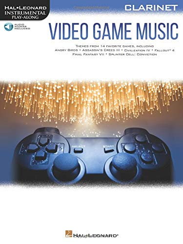 Video Game Music for Clarinet: Instrumental Play-Along  Series