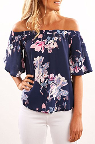 women-short-sleeve-off-shoulder-floral-print-shirt-blouse-party-sexy-tops-tee-us-m