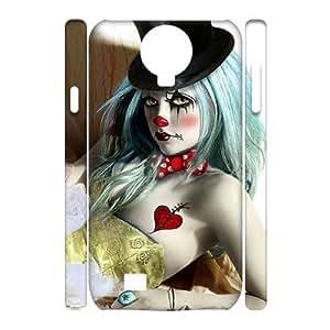Diy Clown Phone Case for samsung galaxy s4 3D Shell Phone JFLIFE(TM) [Pattern-2] Kimberly Kurzendoerfer