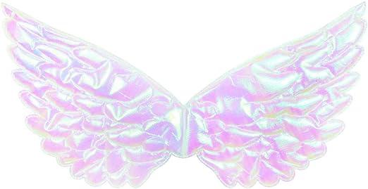 Vxhohdoxs - Disfraz de hada con alas metálicas brillantes para ...