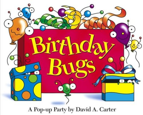 Birthday Bugs Pop up Carter Carters product image
