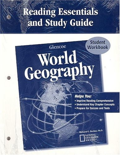 Glencoe World Geography, Reading Essentials and Study Guide, Workbook