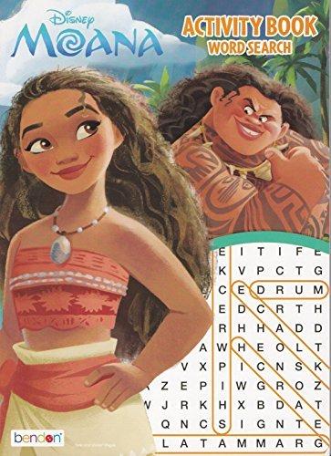Disney Moana Activity Book Word Search