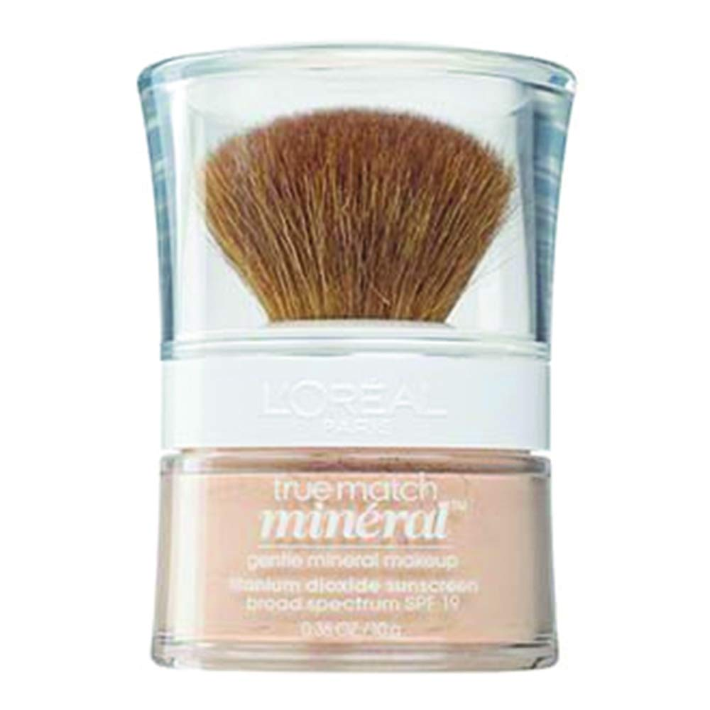 L'Oreal True Match Mineral Foundation, Natural Ivory [461], 0.35 oz