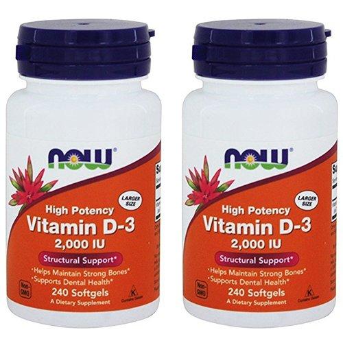 NOW Foods Vitamin D 3 2000 IU