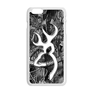 Browning Pattern Fashion Comstom Plastic case cover For Iphone 6 Plus by Maris's Diary