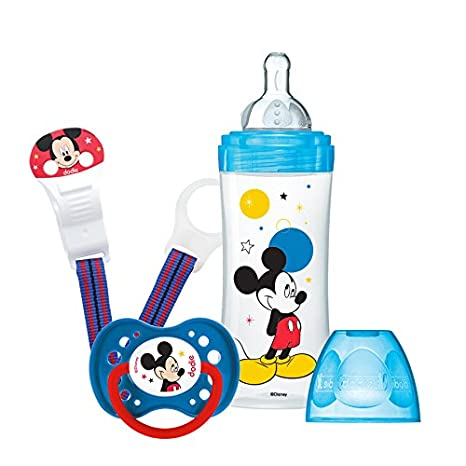 Dodie Initiation + Estuche biberón Mickey/chupete 330 ml ...