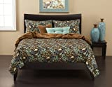 Siscovers 6-Piece Press Leaf Spa Duvet Set, Full Lauderdale