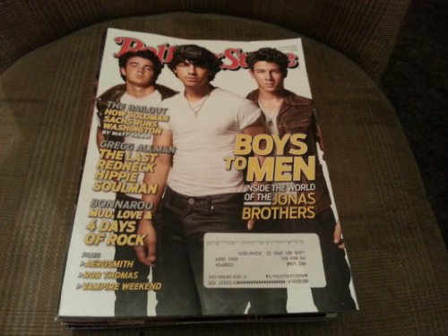 Rolling Stone Magazine July 9 - 23 2009 Jonas Brothers Cover #1082 / 1083