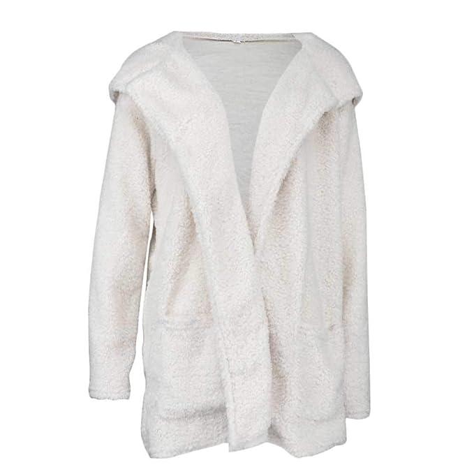 Damen Samt Lang Mantel Jacke Wasserfall Cardigan Longbluse Blazer Übergangsjacke