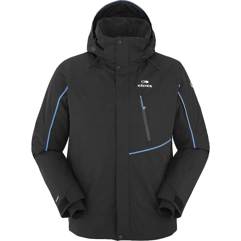 アイダー アウター ジャケットブルゾン Eider Men's Edge Jacket Black 1fc [並行輸入品] B077H2XC4T  Large
