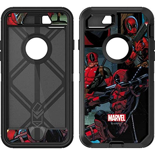 Skinit Deadpool Comic OtterBox Defender iPhone 7 Skin for CASE - Officially Licensed Marvel/Disney Skin for Popular Cases Decal - Ultra Thin, Lightweight Vinyl Decal Protection]()