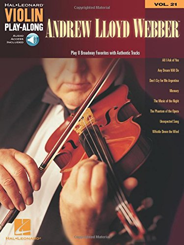 Andrew Lloyd Webber: Violin Play-Along Volume 21