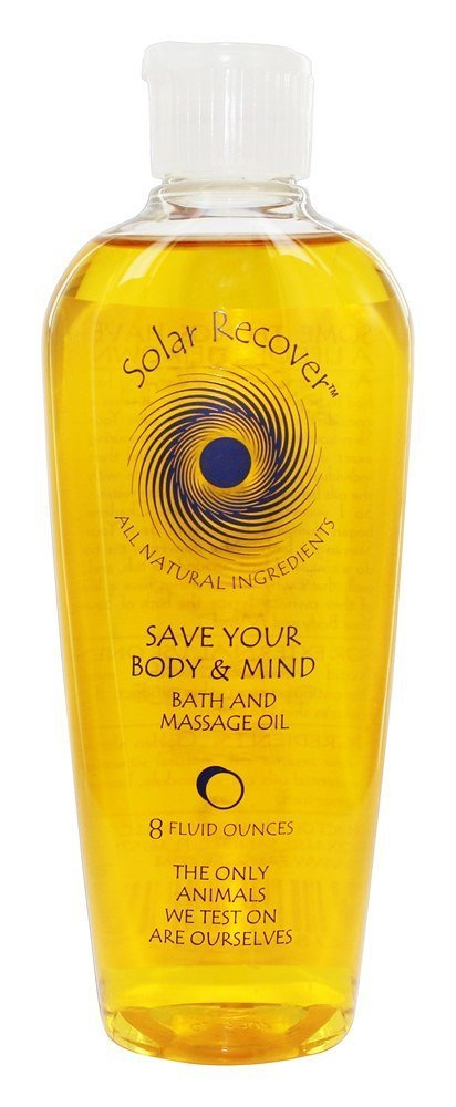 SOLAR RECOVER Save Your Body & Mind Bath Oil, 8 Ounce