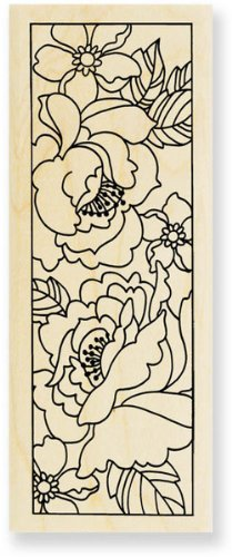 Peony Panel - Rubber Stamps (Peony Panel)