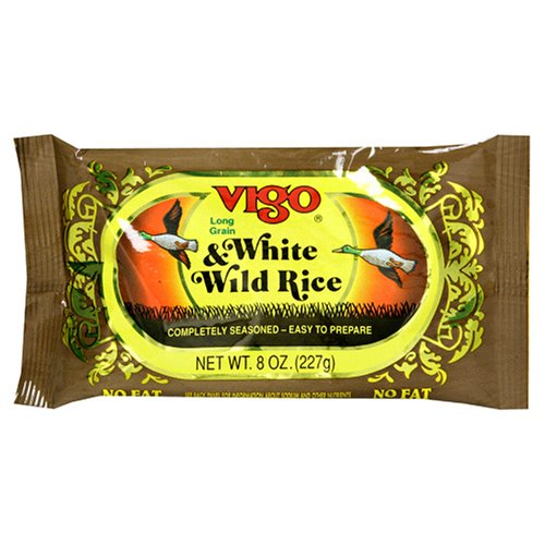 UPC 071072013106, Vigo White and Wild Rice, 8-Ounce Pouches (Pack of 12)